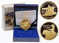 Spanien : 400 Euro Augustina von Aragon inkl. Originaletui und Zertifikat  2008 PP 400 euro spanien 2008