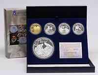 Spanien : 480 Euro Komplettset : 3 x 10 Euro + 1 x50 Euro + 1x 400 Euro Gold  2011 PP