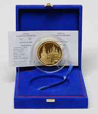 Frankreich : 500 Euro Moskauer Kreml inkl. Originaletui und Zertifikat  2009 PP 500 Euro Kreml