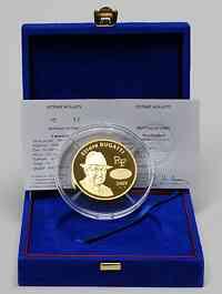 Frankreich 500 Euro Ettore Bugatti Gold 2009 PP