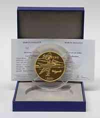 Frankreich : 500 Euro Marcel Dassault inkl. Originaletui und Zertifikat  2010 PP