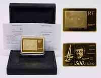 Frankreich : 500 Euro Kubismus inkl. Originaletui und Zertifikat  2010 PP