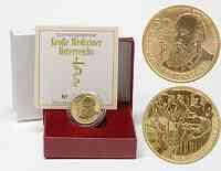 Österreich : 50 Euro Theodor Billroth inkl. Originaletui und Zertifikat  2009 PP 50 Euro Billroth 2009