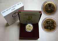 """Österreich : 50 Euro """"Orden und die Welt"""" in Originaletui mit Zertifikat  2002 Stgl."""