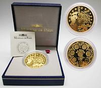 Frankreich : 50 Euro Europa-Münze, incl. Originaletui und Zertifikat  2002 PP
