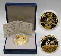Frankreich : 50 Euro Die Tour de France , inkl. Originaletui und Zertifikat  2003 PP