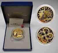 Frankreich : 50 Euro Europa-Münze, incl. Originaletui und Zertifikat  2003 PP