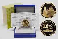 Frankreich 50 Euro Moskauer Kreml 2009 PP Gold