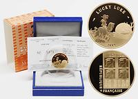 Frankreich : 50 Euro Lucky Luke inkl. Originaletui und Zertifikat  2009 PP 50 Euro Lucky Luke