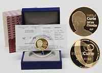 Frankreich : 50 Euro Institut Curie inkl. Originaletui und Zertifikat  2009 PP 50 Euro Marie Curie Gold 2009