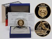 Frankreich 50 Euro Rugby: Stade Toulousain 2010 GOLD