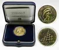 Italien : 50 Euro Fackelläufer  2006 PP 50 Euro Turin 2006, 50 Euro Italien 2006