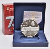 Spanien : 50 Euro 75. Geburtstag König Juan Carlos  2013 PP