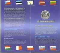 Österreich : 5 Euro EU- Erweiterung im Originalblister  2004 Stgl.