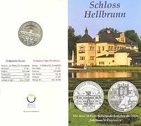 Österreich : 10 Euro Schloß Hellbrunn im Originalblister  2004 Stgl.