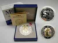 "Frankreich : 5 Euro ""Merci le Franc !"", Bimetall-Münze (Gold+Silber)  inkl. Originaletui und Zertifikat  2002 PP"