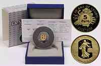 Frankreich : 5 Euro 10 Jahre Euro Bargeld  2012 PP