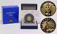 Frankreich 5 Euro 20 Jahre Eurokorps 2012 PP