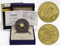 Frankreich 5 Euro Tour de France 2013 PP GOLD