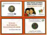 Irland : 5 Euro Special Olympics im Originalblister 2003 bfr