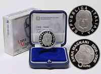 Italien : 5 Euro Anna Magnani  2008 PP 5 Euro Magnani 2008