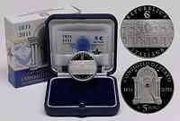 Italien : 5 Euro Staatsrat  2011 PP