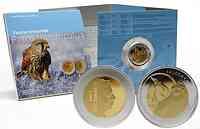 Luxemburg : 5 Euro Turmfalke im Originalblister  2009 PP