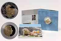 Luxemburg : 5 Euro Fischotter  2011 PP
