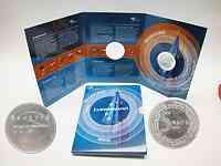 Niederlande : 5 Euro EU-Erweiterung in Originalblister  2004 PP