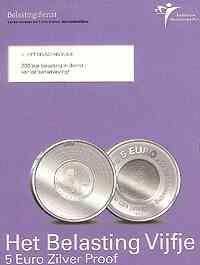 Niederlande : 5 Euro 200 Jahre Finanzverwaltung im Originalblister  2006 PP 5 Euro Niederlande 2006
