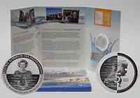 Niederlande : 5 Euro Wasserland im Originalblister  2010 PP