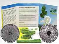 Niederlande : 5 Euro 50. Jahre WWF  2011 PP