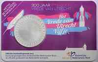 Niederlande : 5 Euro 300 Jahre Frieden von Utrecht  2013 vz.