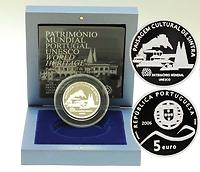 Portugal : 5 Euro Sintra inkl. Originaletui und Zertifikat  2006 PP 5 Euro Sintra