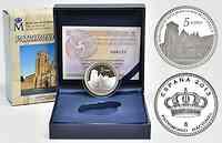 Spanien : 5 Euro Abtei Santa Maria de Huelgas (Burgos)  2013 PP
