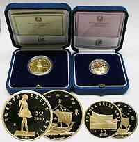 Italien : 70 Euro A. Aalto + E. Degas inkl. Originaletui und Zertifikat  2005 PP
