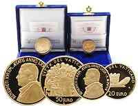 Vatikan 70 Euro Set aus 20+50 Euro Gold 2007 PP original verpackt !