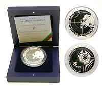 Portugal : 8 Euro EU-Erweiterung inkl. Originaletui und Zertifikat  2004 PP