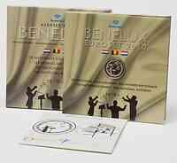 Belgien : 11,64 Euro original KMS Benelux, enthält alle Euro-Kursmünzen der Länder Belgien, Niederlande, Luxemburg + Medaille und CD 2010 Stgl.