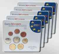 """Deutschland : 19,4 Euro kompletter Satz in Originalverpackung """"Bad Homburg""""  2004 Stgl."""