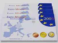 """Deutschland : 19,4 Euro kompletter Satz in Originalverpackung """"Bad Homburg""""  2005 PP"""