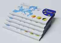 """Deutschland : 29,4 Euro KMS Deutschland mit zusätzlicher 5 x 2 Euro Gedenkmünze """"Hamburger Michel""""  2008 PP KMS Deutschland 2008 PP"""