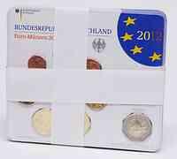 Deutschland : 29,4 Euro kompletter Satz mit zusätzlicher 5 x 2 Euro Gedenkmünze Neuschwanstein und 10 Jahre Euro Bargeld  2012 Stgl. KMS Deutschland 2012 Stgl.