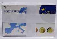 Deutschland : 29,4 Euro kompletter Satz mit zusätzlicher 5 x 2 Euro Gedenkmünze  Zisterzienserkloster Maulbronn und Elysée Vertrag  2013 PP KMS Deutschland 2013 St BU