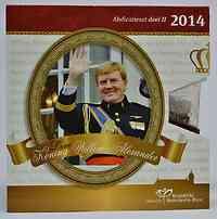 Niederlande : 3,88 Euro KMS Abdankung II. Wilhelm Alexander  2014 Stgl.