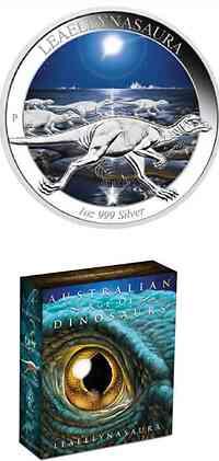 Australien : 1 Dollar Leaellynasaura - Australische Dinosaurier  2015 PP