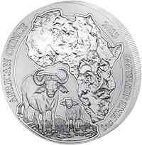 Ruanda-Urundi : 50 RWF Kaffernbüffel  2015 Stgl.