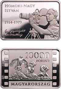 Ungarn : 10000 Forint 100. Geburtstag István Homoki Nagy - Barrenform 2014 PP