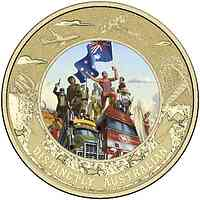 Australien : 5 Dollar Australische Identität - im Blister  2015 Stgl.