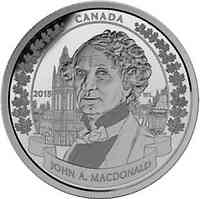 Kanada : 20 Dollar 200. Geb. Sir John A. Macdonald (Erster Premierminister)  2015 PP
